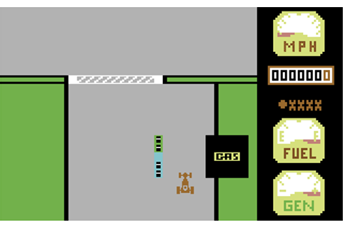 Download Motor Mania (Commodore 64) - My Abandonware