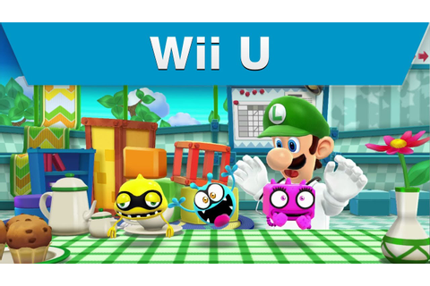 Wii U - Dr. Luigi Trailer - YouTube