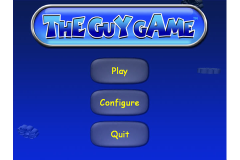 The Guy Game Screenshots for Windows - MobyGames