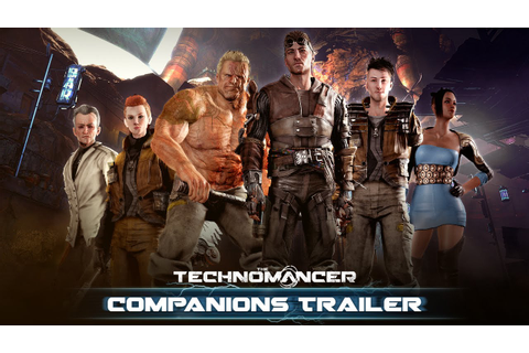 The Technomancer - Companions Trailer (NEW GAMEPLAY ...