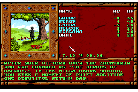 Treasures of the Savage Frontier | Play DOS games online