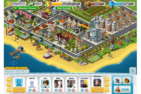 MegaCity « Free Online City Building Game