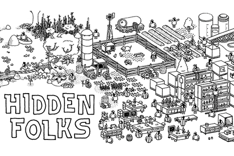 'Hidden Folks' Walkthough: Tips, Hints and Cheats For ...