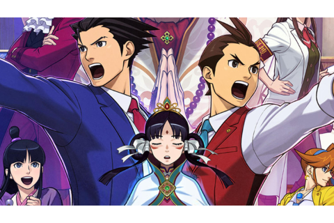 Phoenix Wright: Ace Attorney − Spirit of Justice 3DS ...