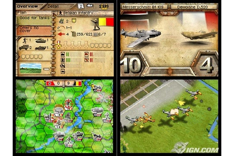 Panzer Tactics DS Review - IGN