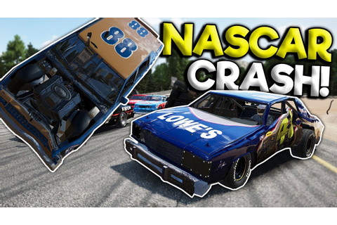 BIGGEST NASCAR STOCK CAR OVAL CRASH! - Next Car Game ...