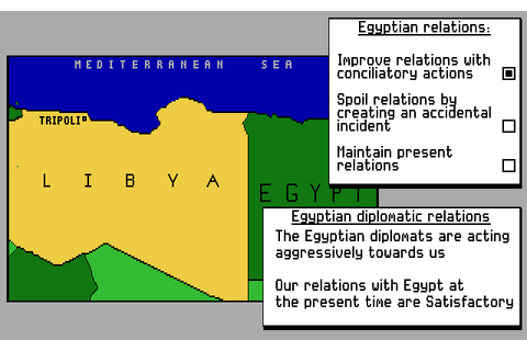Conflict: The Middle East Political Simulator (1990) by ...