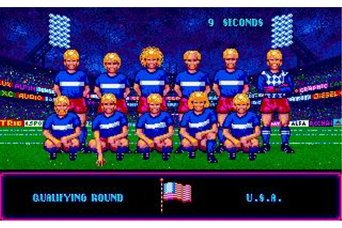 Italia '90 World Cup Soccer Download (1989 Amiga Game)