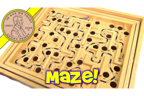 Labyrinth Metal Ball Maze Game Of Skill - YouTube