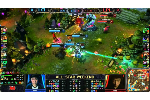 2013 ALL-STAR League of Legends final game Korean LCL vs ...