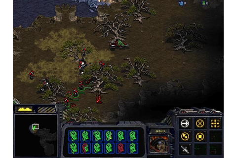 Скриншоты StarCraft: Insurrection на Old-Games.RU