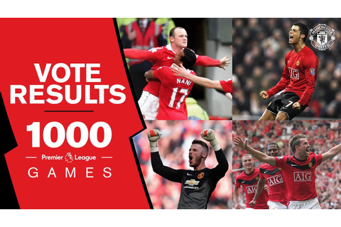 Manchester United 1000 PL games: VOTE REVEAL! Best Goal ...