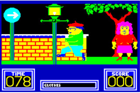 Gaming After 40: Oddities: Benny Hill's Madcap Chase
