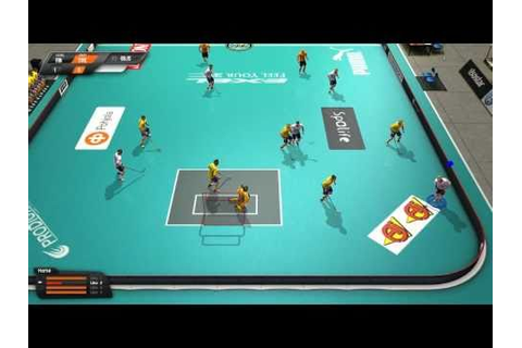 Floorball League - Gameplay - YouTube