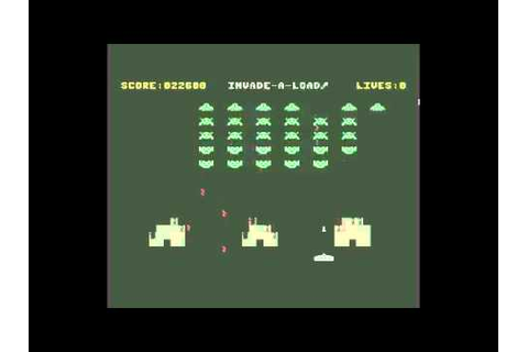 INVADE-A-LOAD C64 SILVERTIME 1987 MASTERTRONIC SPACE ...