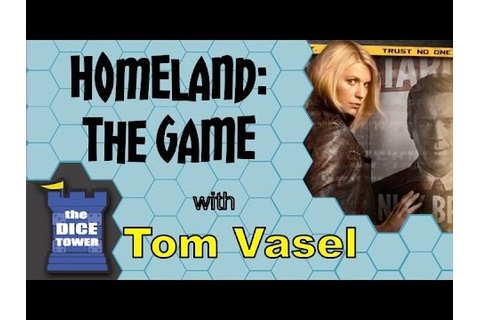 Homeland the Game Review - with Tom Vasel - YouTube