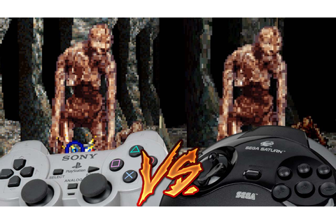 PlayStation Vs Sega Saturn - Crypt Killer - YouTube