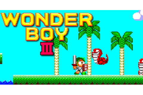 Wonder Boy III: The Dragon's Trap - The best game to date ...