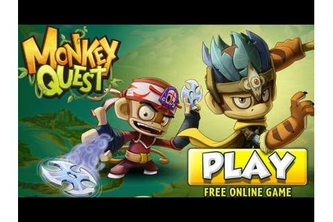 Monkey Quest - Nickelodeon Gameplay by Magicolo - YouTube