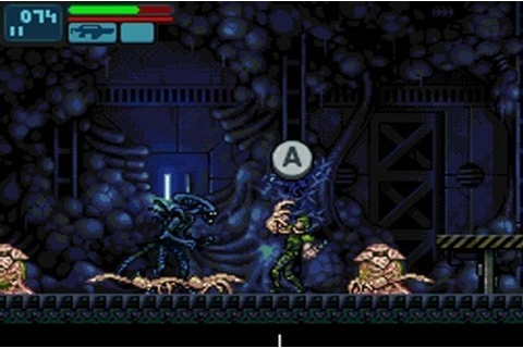Aliens: Infestation is the Metroid-style, 2D Aliens game ...