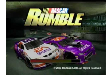 PS1 - Nascar Rumble Gameplay - YouTube