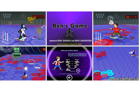 Caiman free games: Ben's Game by Eric and Ben.