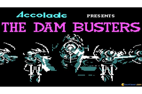 The Dam Busters gameplay (PC Game, 1984) - YouTube