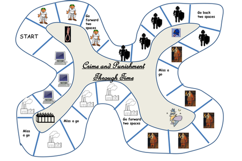 Crime and Punishment Revision Board Game by suwilliams23 ...