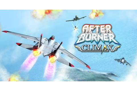 After Burner Climax Apk + SD Data | Android Games Download