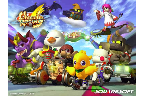 Load Game Ps1: Load Game Chocobo Racing