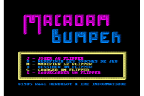 Download Macadam Bumper - My Abandonware