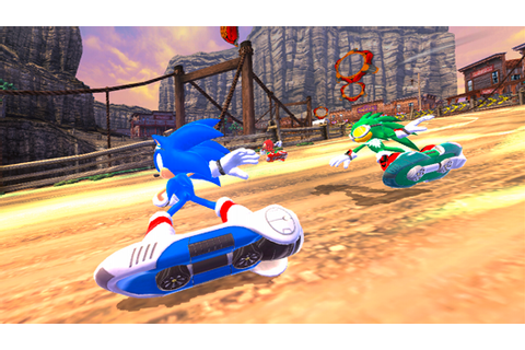 Download SONIC RIDER Full PC Game Free - The Ultimate ...