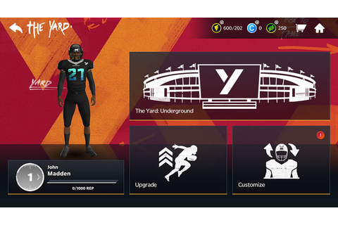 Madden NFL 21 - Set up your Madden Avatar and Rank