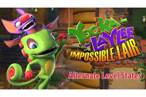 Yooka-Laylee and the Impossible Lair Trailer Looks at ...