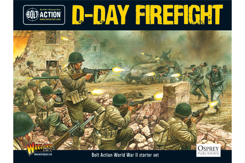 Focus: D-Day Landings 6th June 1944 - Warlord Games