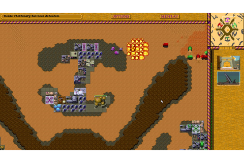 Dune 2 HD Remake (Legacy Project) Tour & Skirmish - YouTube
