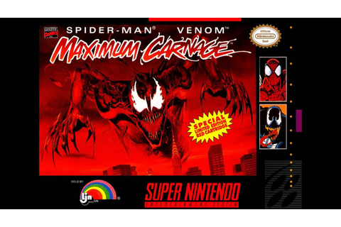 SNES-Longplay-Spider-Man & Venom - Maximum Carnage (U ...