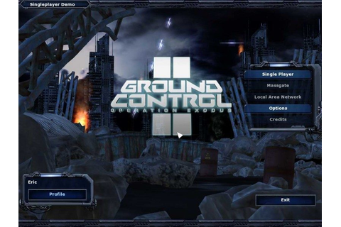 Ground Control II: Operation Exodus (2004) by Massive ...