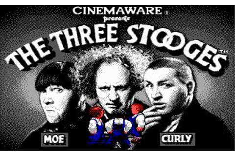 Three Stooges, The Download (1987 Arcade action Game)