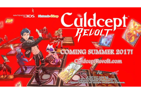 Culdcept Revolt Coming to Nintendo 3DS This Summer
