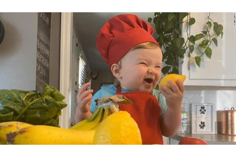 Meet the 1-year-old chef with 1.3 million followers on ...