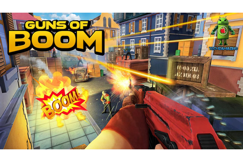 GUNS OF BOOM GAMEPLAY - ( iOS / Android ) - YouTube