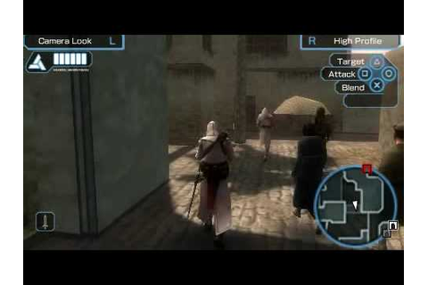 Assassins Creed Bloodlines Psp Gameplay - YouTube