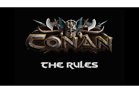 Conan: The Board Game by Monolith - The Rules! - YouTube