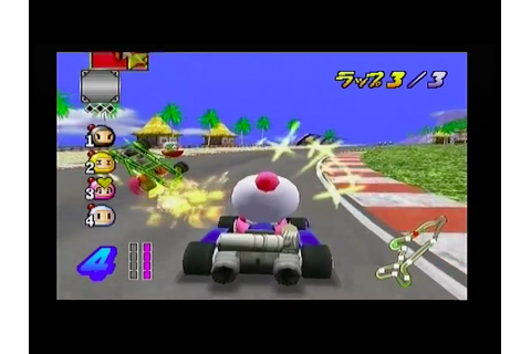 PlayStation 2 - Bomberman Kart (Import Gameplay of Races ...