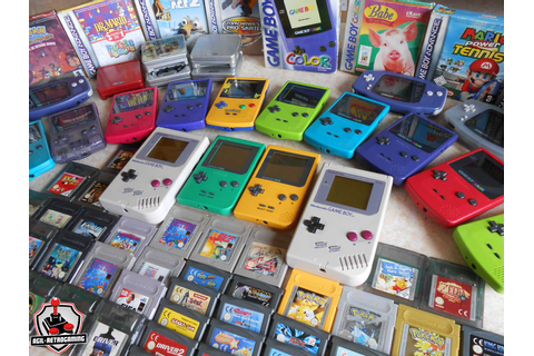 Arrivage Game Boy - GBC - GBA | Blog Agil-Retrogaming