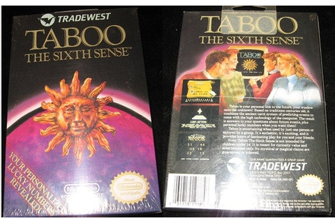 Taboo The Sixth Sense.. New Sealed Vintage by ...