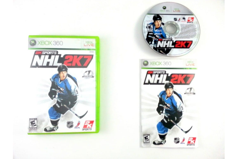 NHL 2K7 game for Xbox 360 (Complete) | The Game Guy