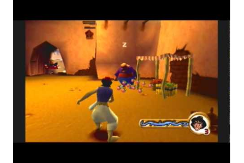 Ps1 game: Aladdin In Nasira's Revenge- Agrabah Level 3 P1 ...