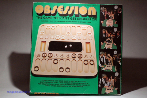 Obsession Game from Mego 1977 COMPLETE read description